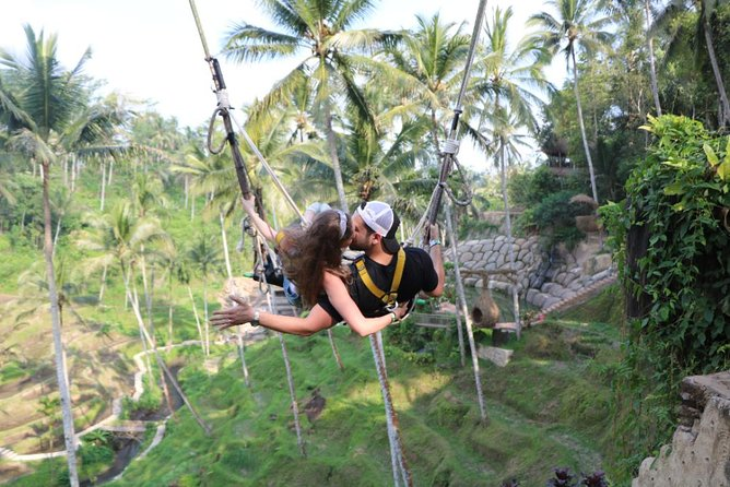 Ubud Market Shopping and Swing with Private Transportation