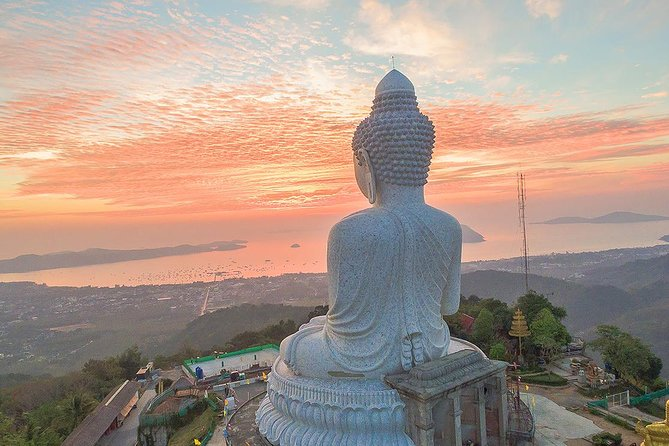 Phuket City Tour: Karon View Point, Big Buddha & Wat Chalong (Multi Languages)