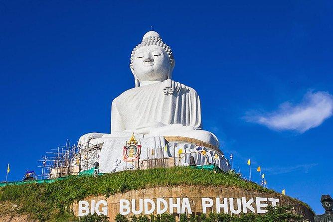 Phuket City Tour to Karon View Point, Big Buddha & Wat Chalong (Multi Languages)