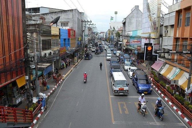 Drop-off at Nakhon Si Thammarat Bus Terminal by air-conditioned minivan