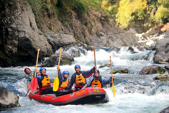 River Valley Rafting - Grade 5 White Water Rafting on the Rangitikei River