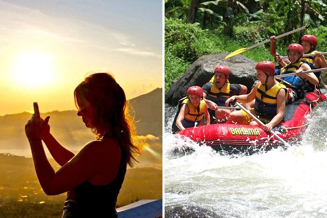 Bali Sunrise Trekking and Ayung White Water Rafting