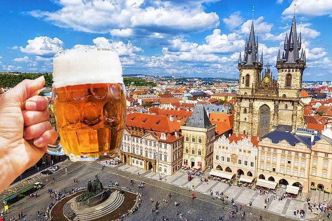 Prague Czech Beer Walking Tour with Guide, Authentic Pub Culture Experience