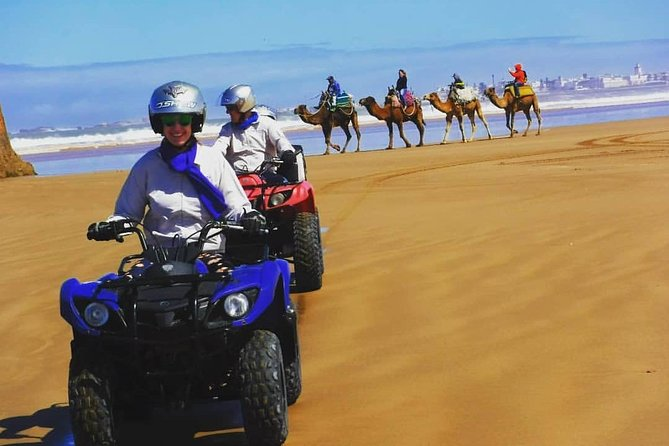 ATV Quad biking in Essaouira Beach, Big Dunes & Atlantic Coast tour