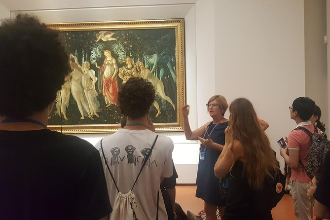 Florence Private Full-Day Tour with Uffizi and Accademia Gallery