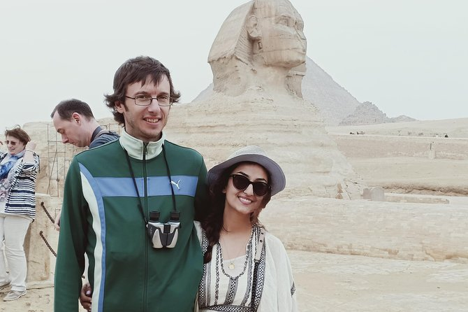 Great Sphinx &Great pyramids of GIza with lunch and camel ride from 11USD
