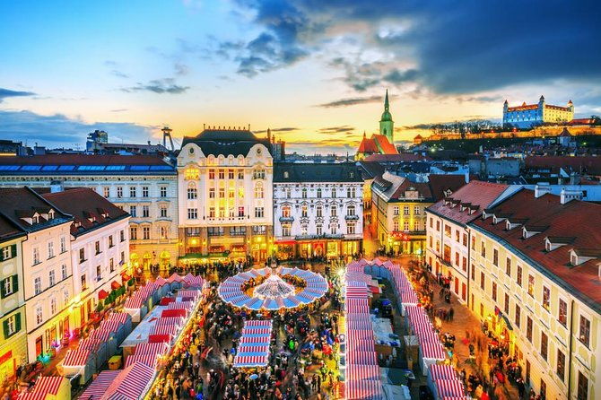 Bratislava: 2- Hour Private Walking Tour