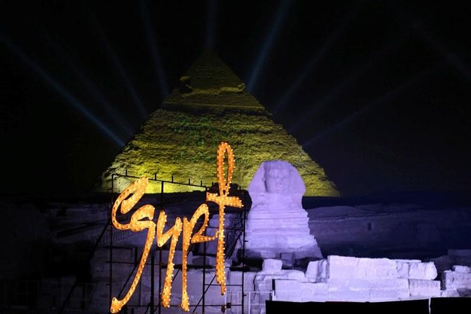 Sound& Light show at the Pyramids of Giza