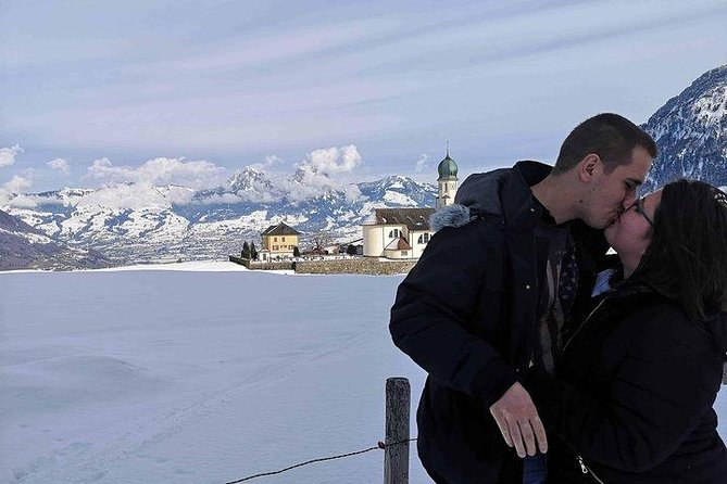 Honeymoon Tour Lucerne Lake Alps Half Day with Private Limo&Guide-Chauffeur