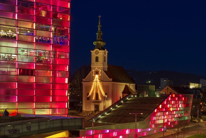 Linz private city walking tour