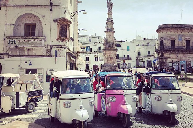 Private Tour of the Medieval Village of Ostuni by Tuk Tuk