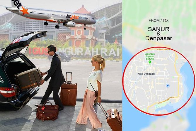 Bali DPS Airport Private Transfer from to Sanur & Denpasar City
