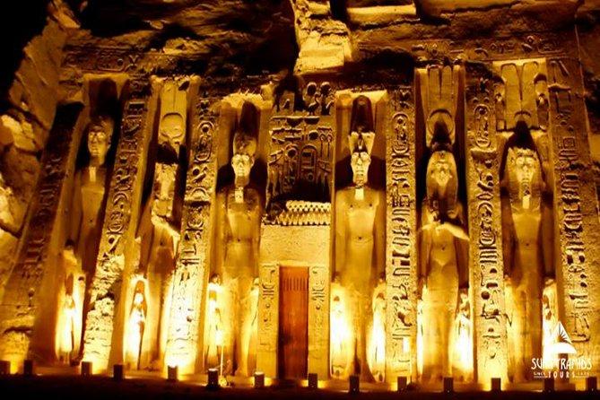 Spectacle son et lumière privé au temple de Philae