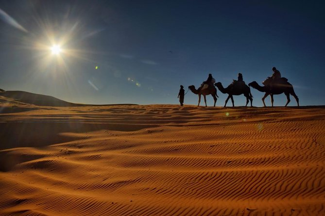 2 Days Fes Desert Tours with Overnight in Luxury Desert Camp