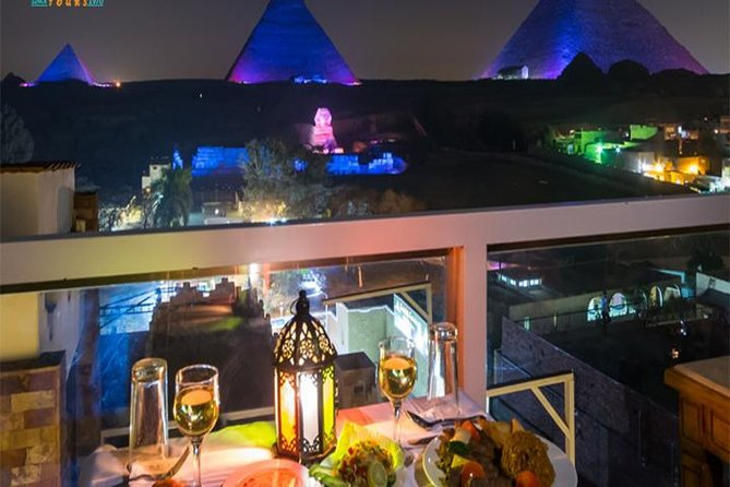 Great Pyramid Inn Dinner With Pyramids View photo 3