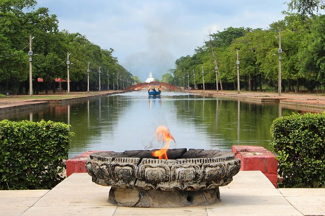 Lumbini the Budhha Birth Place from Lucknow