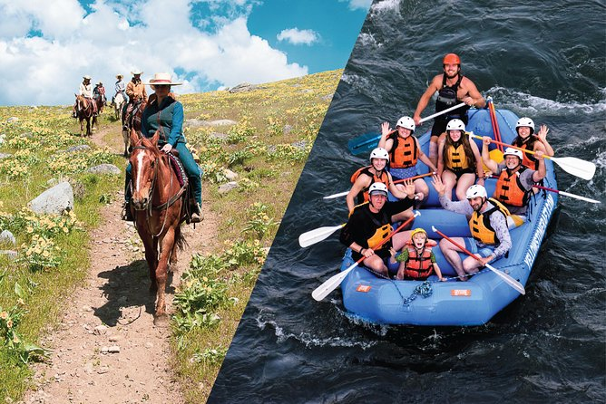 Saddle and Paddle, Whitewater and Horseback Experience - Express Combo Trip