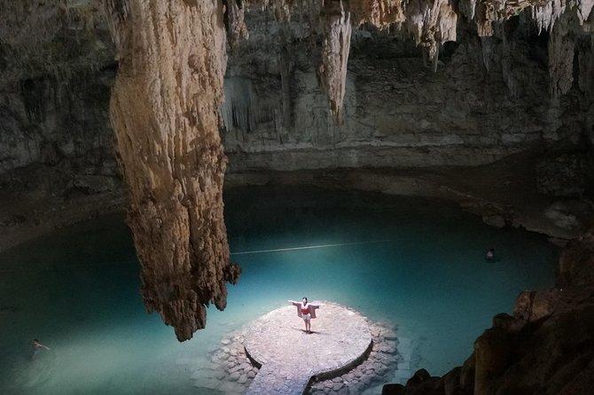 Cenote Suytun & Rio Lagartos & Las Coloradas