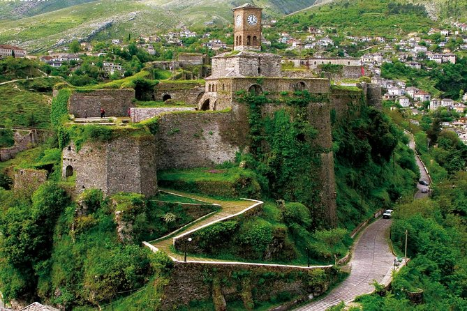 Visit Gjirokastra Castle and Lekuresi Castle from Saranda