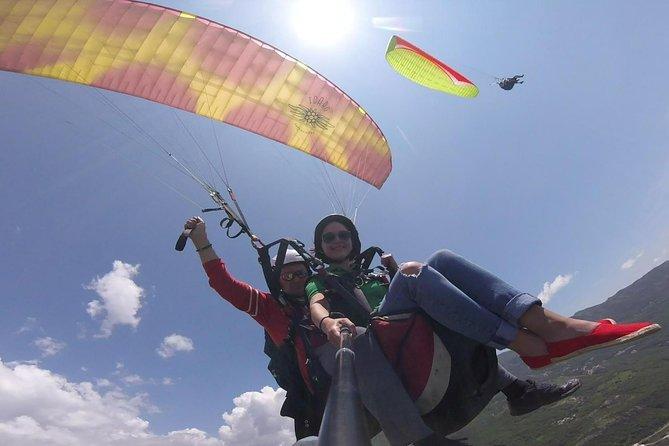 Tandem paragliding in Budva