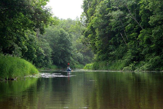 Canoeing Soomaa National Park