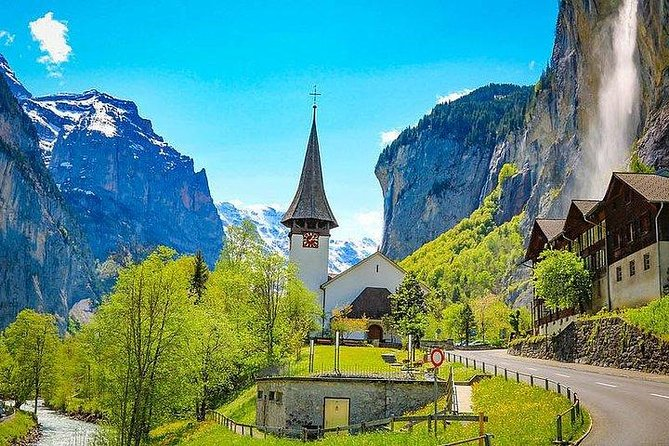 Hobbit Rivendell Journey-Lauterbrunnen-Private Limo Half Day incl Guide-Driver