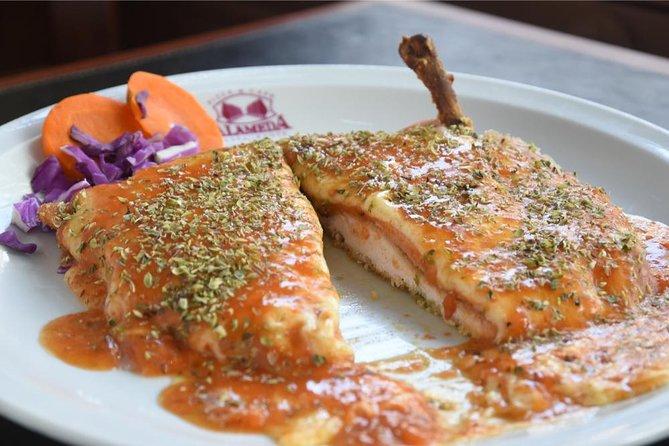 Almuerzo en Restaurante Alameda, Menú Alameda
