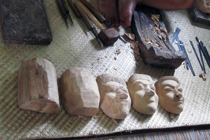 Carve your own Balinese Wood Mask