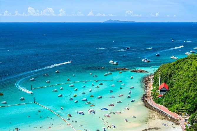 Coral Island Half-day Trip from Pattaya stopover for Parasailing & Sea Walking