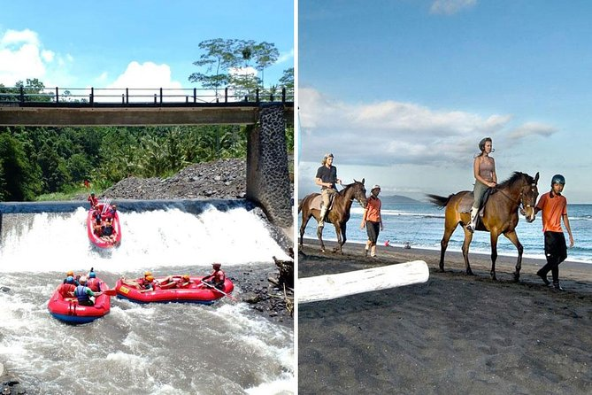 Telaga Waja Rafting and Bali Horse Riding Packages