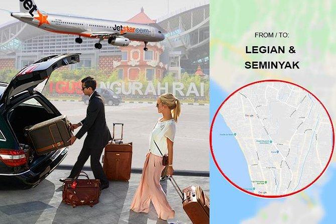 Bali DPS Air Port Private Transfer from to Legian & Seminyak