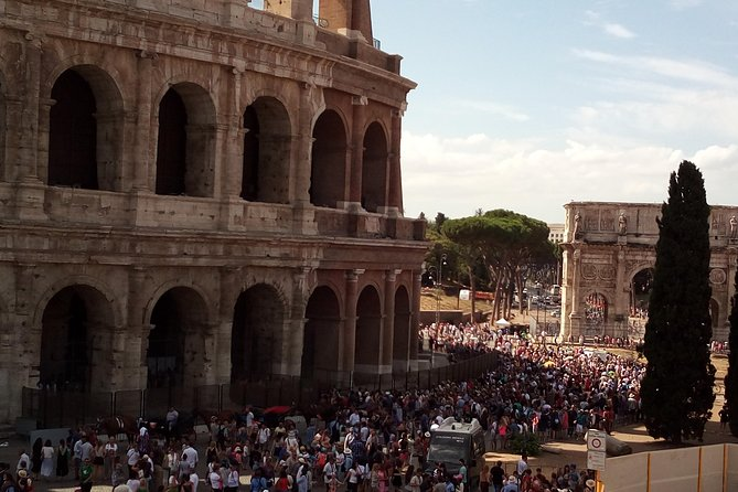 Rome Fullday with Driver and Tour Guide Skip-The-Line Tickets and Lunch Included