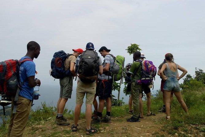 Hiking and biking tours on the Congo Nile Trail