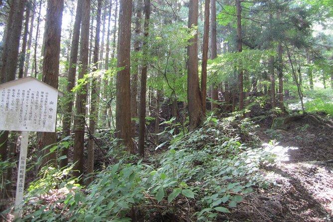 Old Nakasendo trekking from Karuizawa-Beyond Sugahi Pass to Sakamoto Hotel-