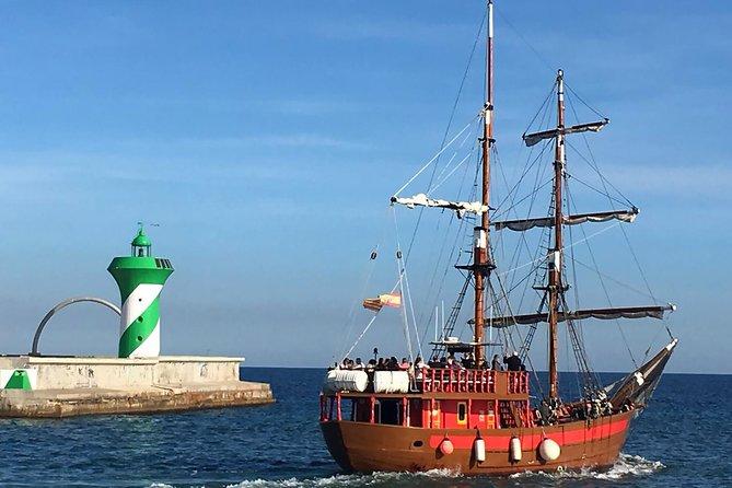 Barcelona Port-Skyline Pirate Boat Trip
