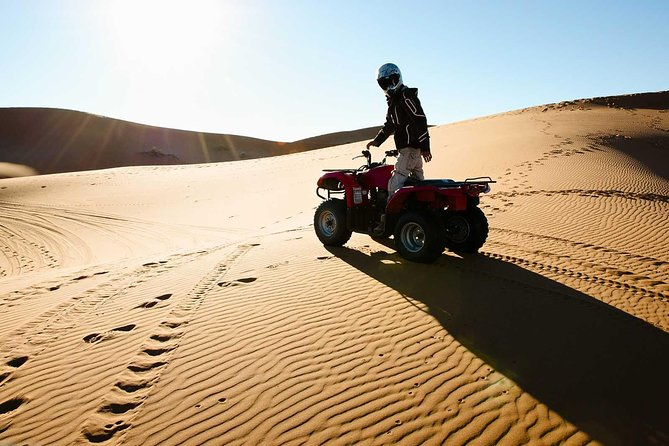 Dubai Morning Quad Bike with Sandboarding and Camel Ride photo 7