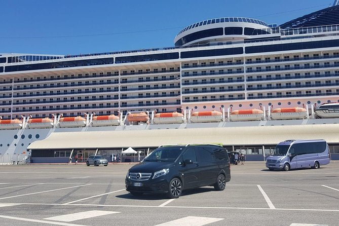 Rome to Civitavecchia Port - Private transfer with Minivan or Sedan