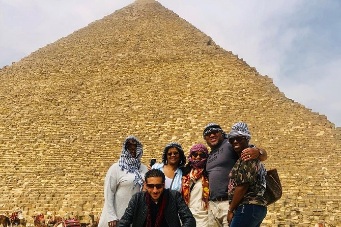 Full day Giza Pyramids & Sphinx &sakkara & Memphis Private Tour