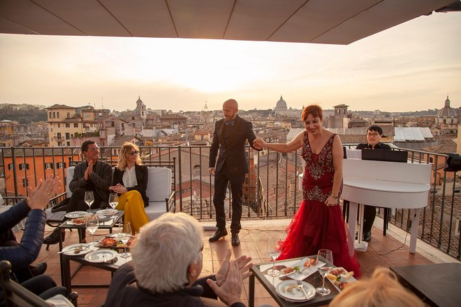 Rooftop Bar Opera Show: The Great Beauty of Rome