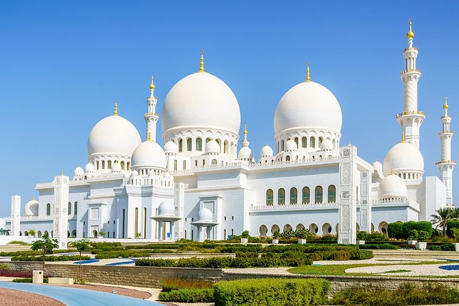 Full-Day Small-Group Abu Dhabi Louvre and Grand Mosque Tour from Dubai