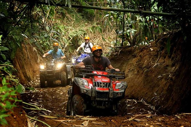 Bali ATV Quad Bike with Lunch & 7 Challenges