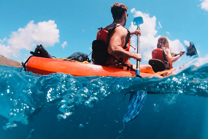 Culebra Kayak and Snorkel Adventure from Ceiba
