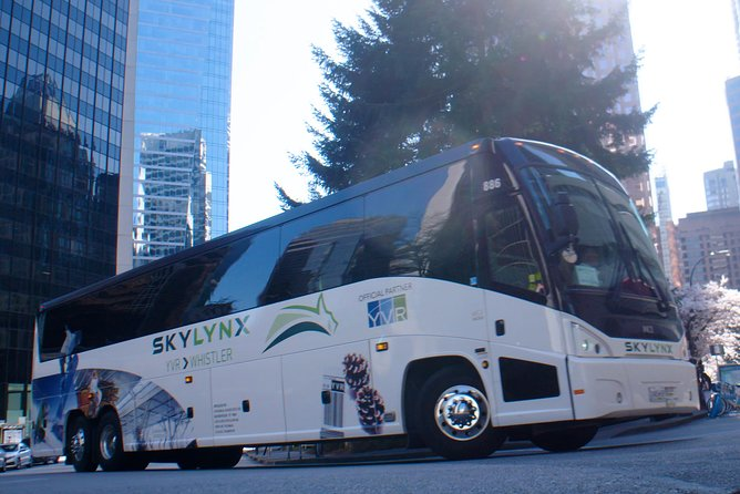 Vancouver Airport to Whistler by Bus (Round trip)
