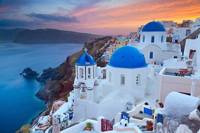 Santorini Blue Domes Half-Day Private Tour