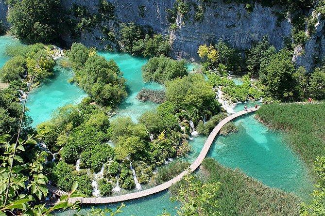 Zagreb to Split Transfer with Plitvice Lakes Tour