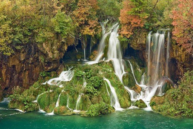 Plitvice lakes from Šibenik or Zadar