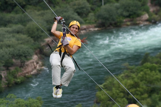 River Rafting and Zipline Tour from Salta with Argentine Barbecue Lunch