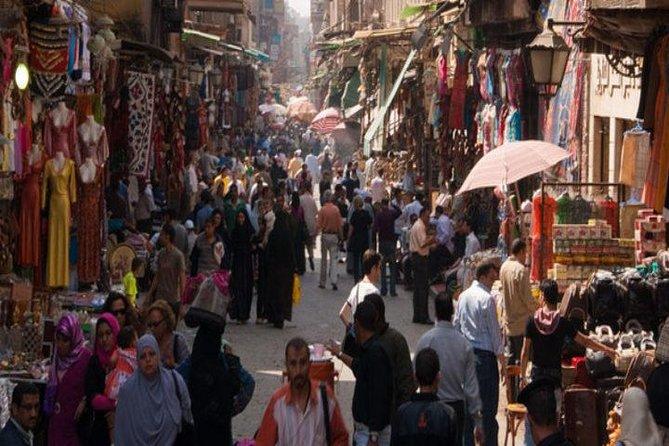 Old Cairo and Khan El Khalili bazaar