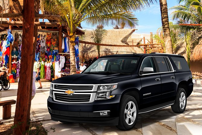 Cancun Airport to Hotel Private Deluxe SUV