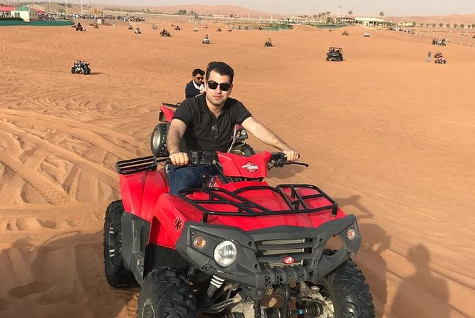 Premium Red Dunes Safari, Quad Bike Ride with BBQ Dinner